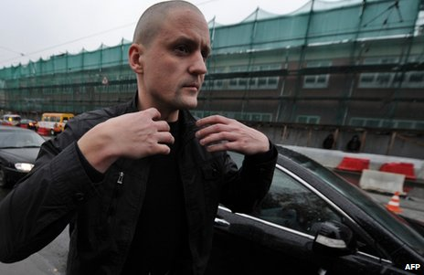 Leftist leader charged in Russia