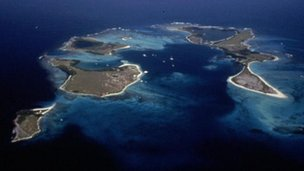 Los Roques islands