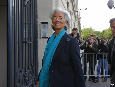French court questions IMF chief
