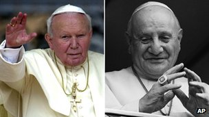 Popes to be declared saints in April