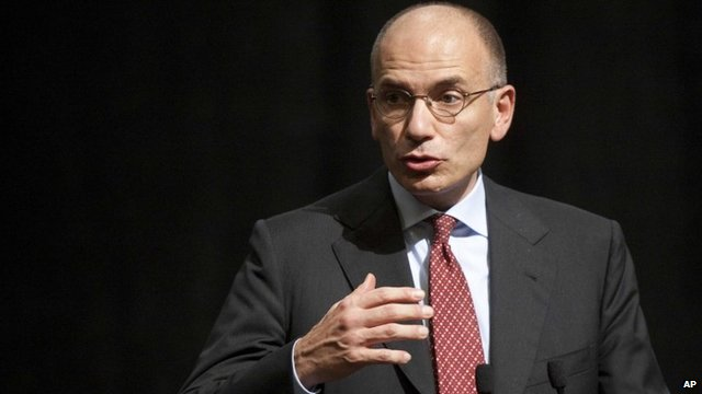 Italy PM Letta struggles for support