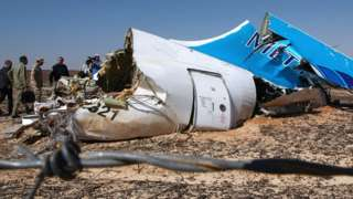 Russian plane 'had bomb in hold'