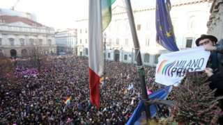 Huge gay rights rallies in Italy