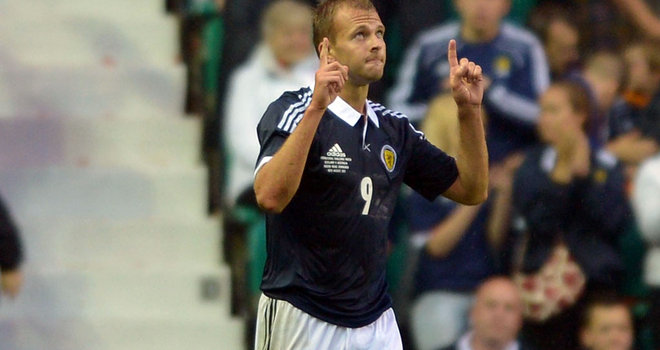 Jordan Rhodes: Impressed after coming on as substitute against Macedonia