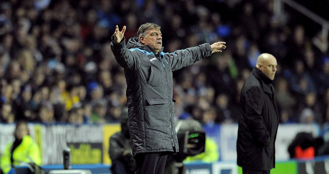 Allardyce calls for reaction