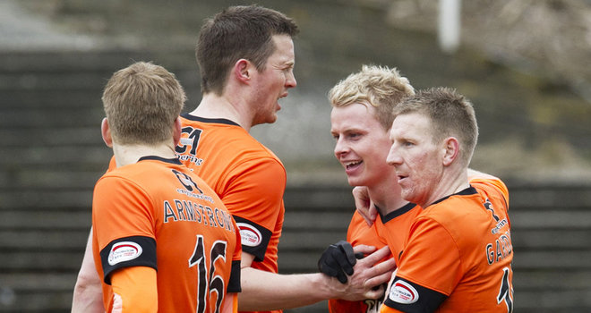 United claim Tayside derby