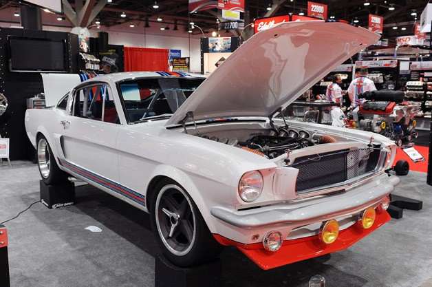 SEMA: Pure Vision Design imagines what could have been with Martini Racing 1966 Ford Mustang T-5R [w/video]