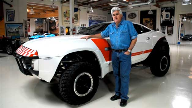 Video: Local Motors Rally Fighter crowds into Jay Leno's Garage